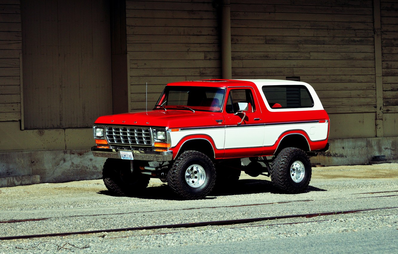 Photo wallpaper Ford, Car, Off Road, Bronco