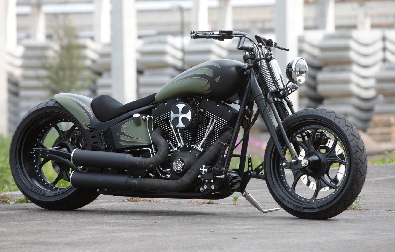 Photo wallpaper Bike, Custom, Motorcycle, Thunderbike customs