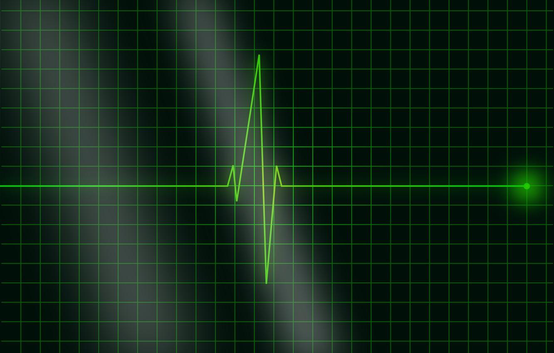 Фотообои пульс, кардиограмма, частота