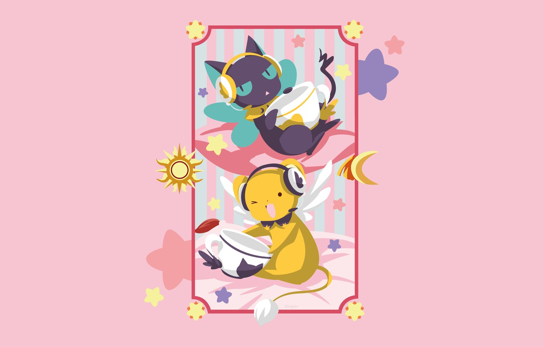 Photo wallpaper background, frame, animals
