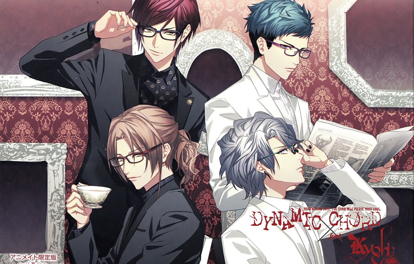 Photo wallpaper the game, group, anime, guys, Dynamic Chord