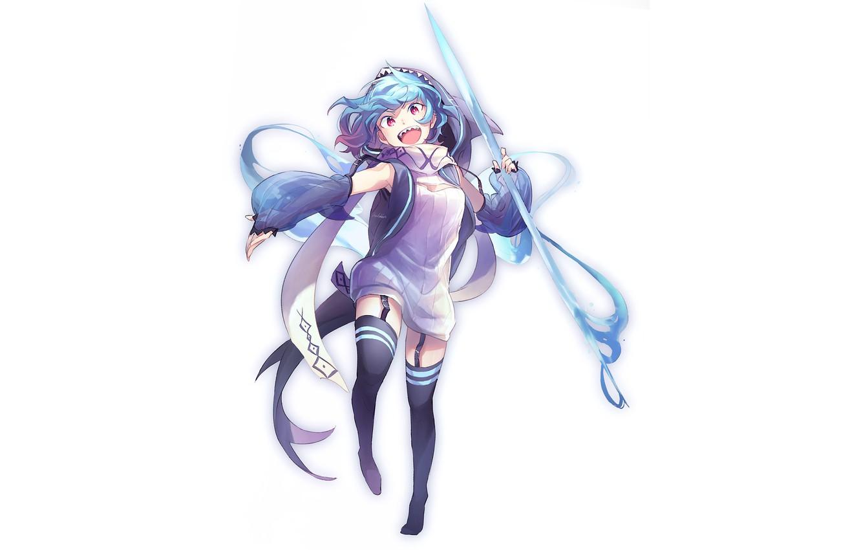 Photo wallpaper girl, Hatsune Miku, Vocaloid, Vocaloid, Hatsune Miku