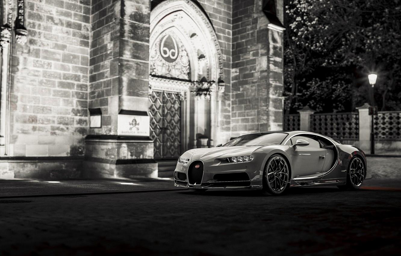 Photo wallpaper Auto, Machine, Bugatti, Supercar, Chiron, Bugatti Chiron, Transport & Vehicles, by Giacomo Geroldi, Giacomo Geroldi