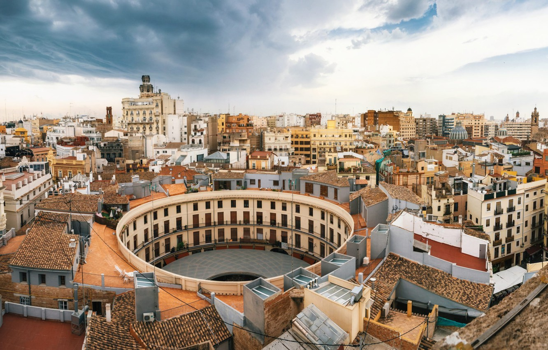 Photo wallpaper home, panorama, Spain, Valencia, the area of Redon