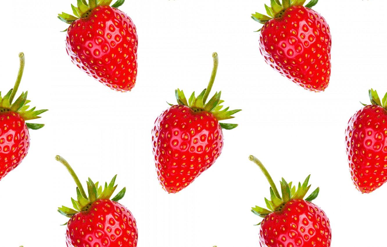 Wallpaper White Berries Background Wallpaper Strawberry