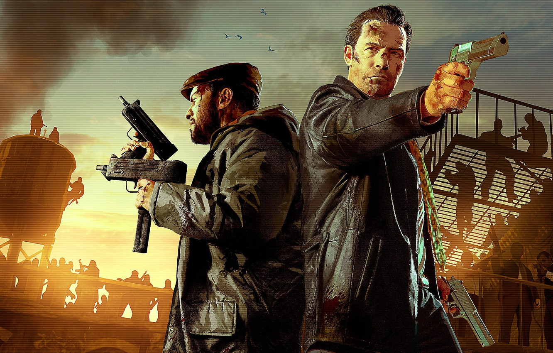 Wallpaper Weapons Men Max Payne 3 Max Payne Images For Desktop