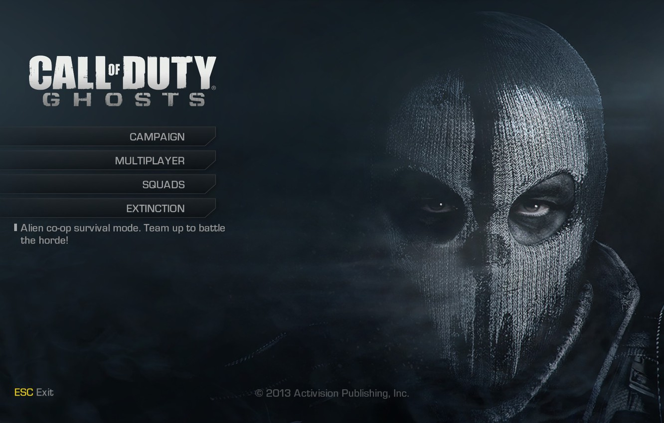 Wallpaper Ghost Logan Call Of Duty Ghost Images For