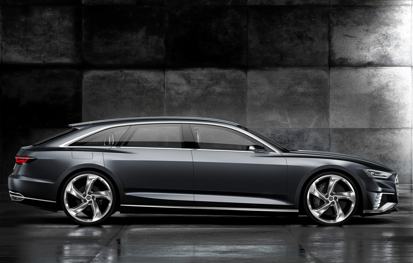 Photo wallpaper Concept, Audi, side view, universal, Before, 2015, Prologue