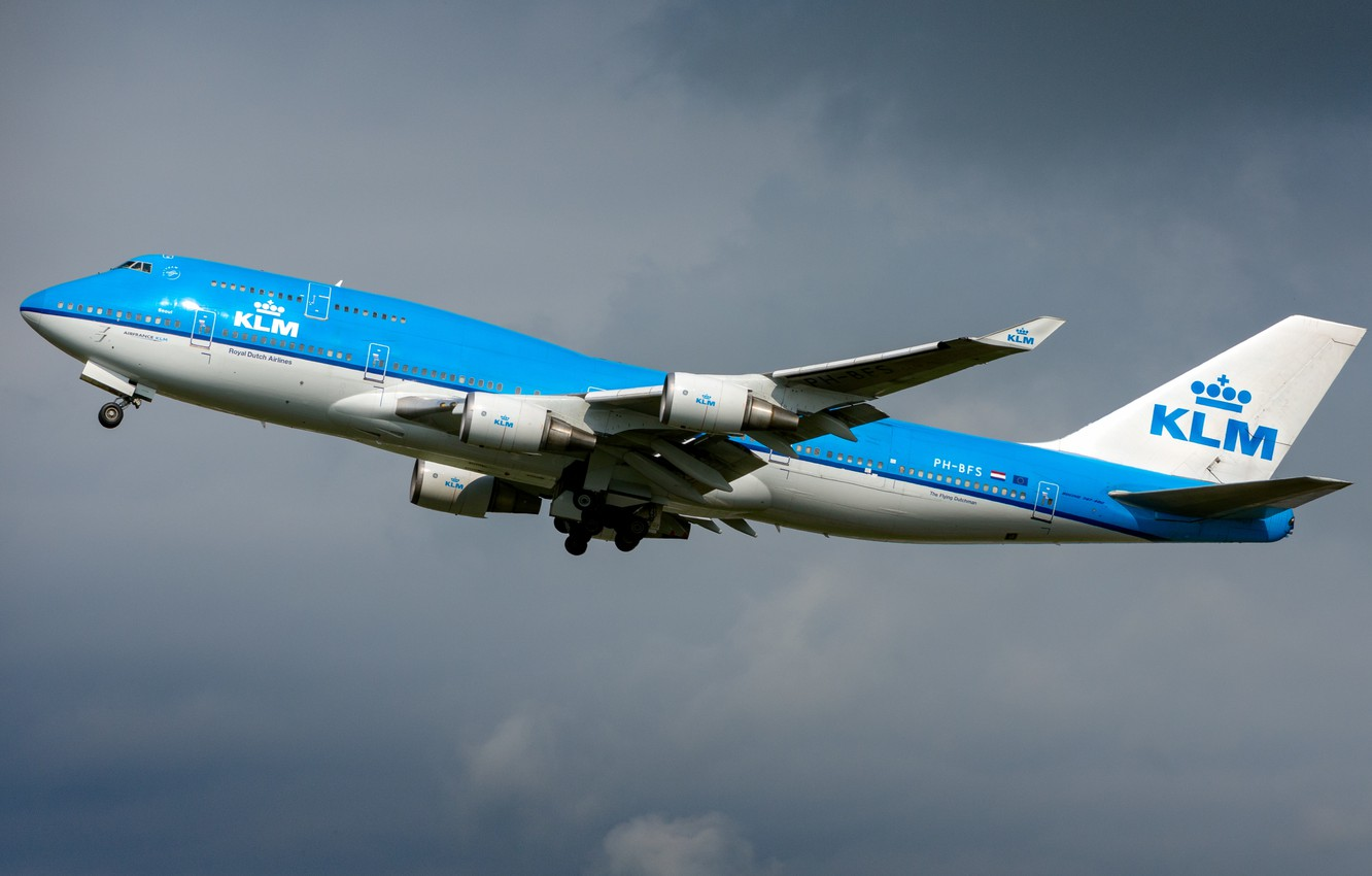 Wallpaper Boeing Klm Boeing 747 400m Images For Desktop Section Aviaciya Download