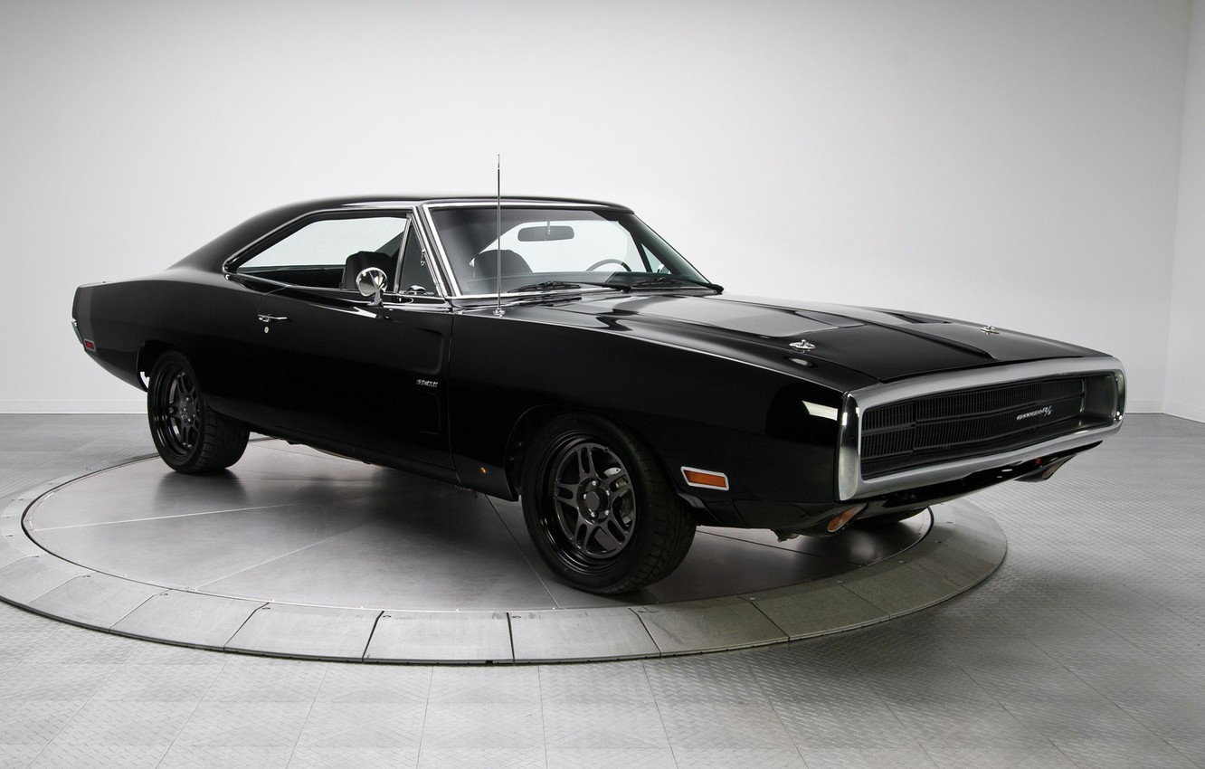 Photo wallpaper Muscle, Dodge, Classic, Charger