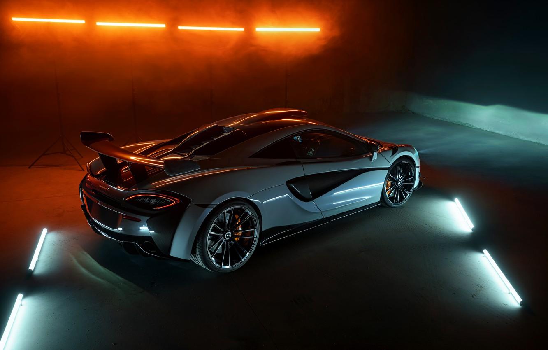 Photo wallpaper McLaren, wing, Novitec, 2020, 620R