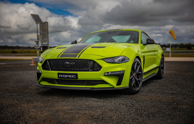 Photo wallpaper Mustang, Ford, AU-Spec, R-Spec, 2019, Australia version