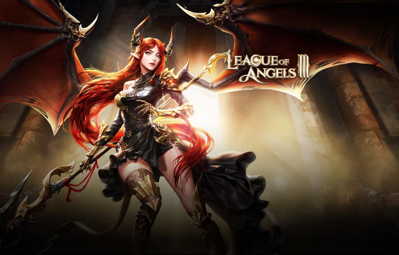 Wallpaper Weapons Angel Warrior League Of Angels League