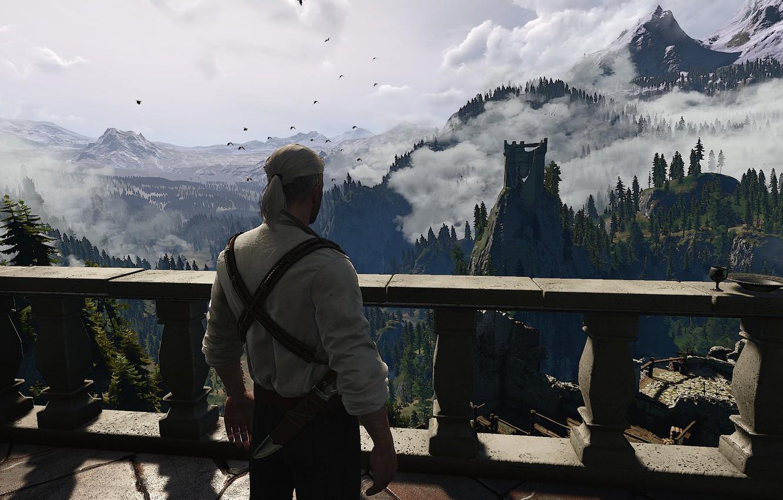 Wallpaper The Witcher 3 Wild Hunt Geralt Of Rivia Cd