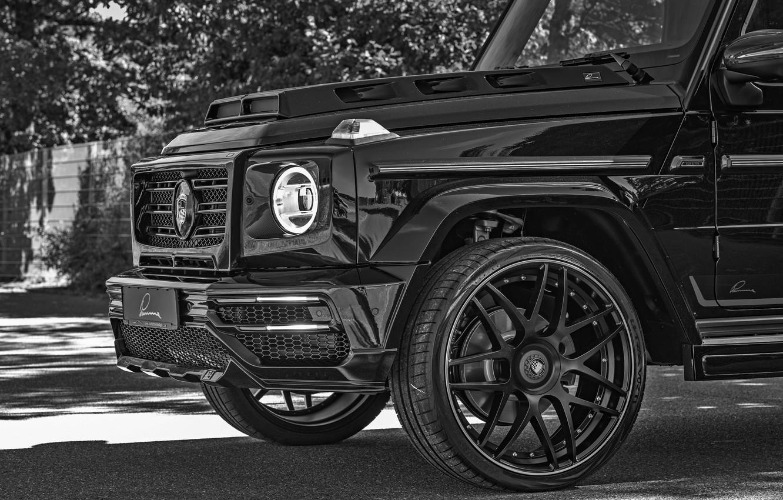 Photo wallpaper Mercedes-Benz, SUV, the front part, G-Class, Lumma Design, 2019, CLR G770