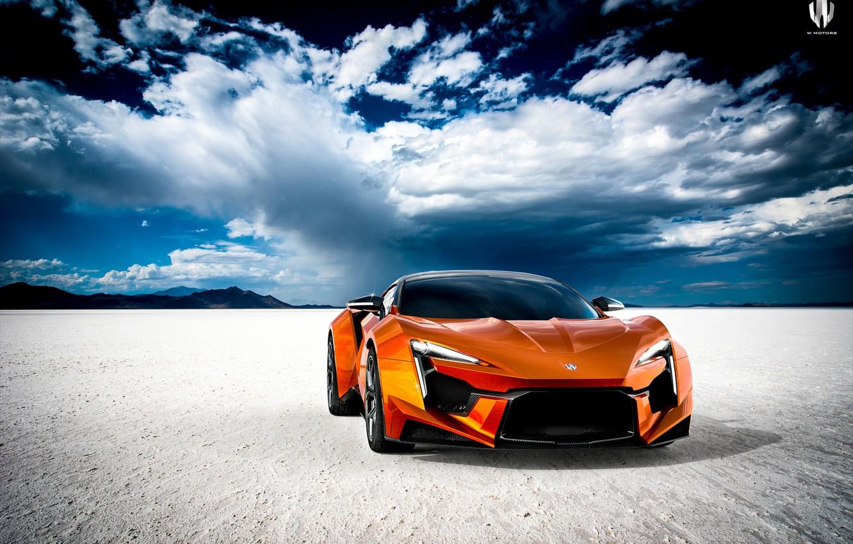 Photo wallpaper Auto, Machine, Orange, Rendering, Supercar, Concept Art, Sports car, SuperSport, Fenyr, Transport & Vehicles, Benoit …