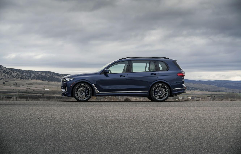 Photo wallpaper BMW, side, crossover, SUV, Alpina, 2020, BMW X7, X7, G07, XB7