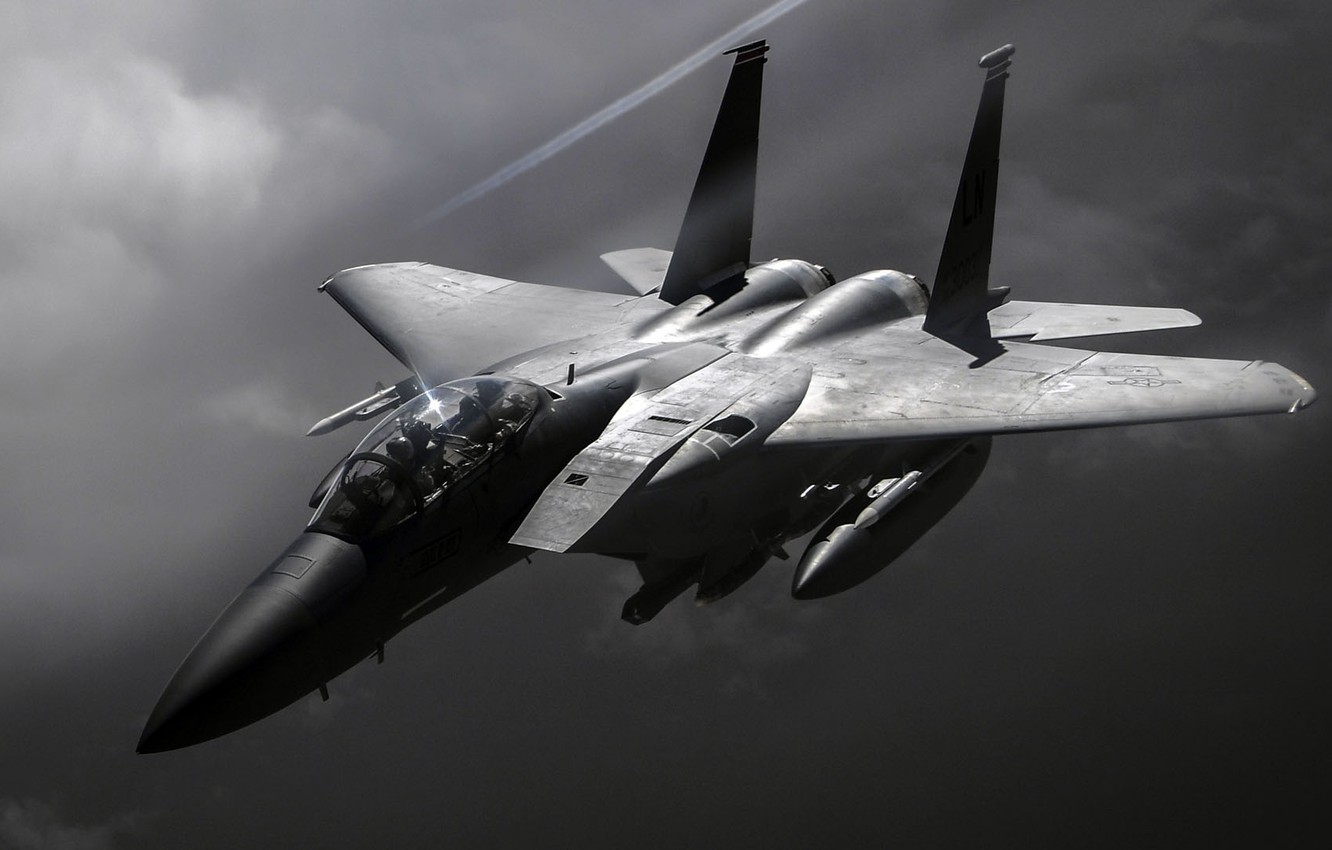 Wallpaper United States Air Force Fighter Bomber F 15e Strike