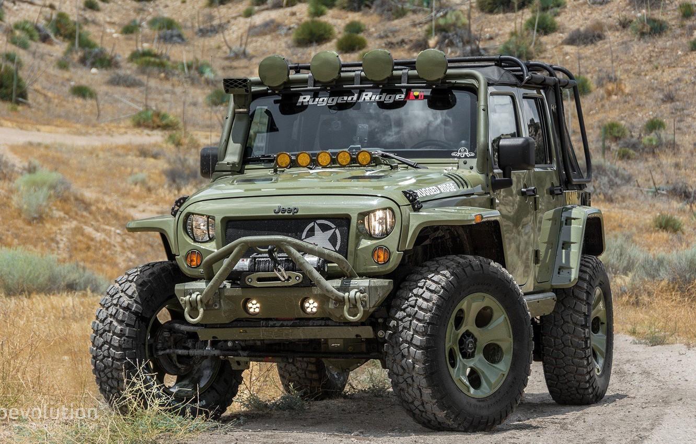 Photo wallpaper 4x4, Wrangler, Jeep, Unlimited, Rubicon