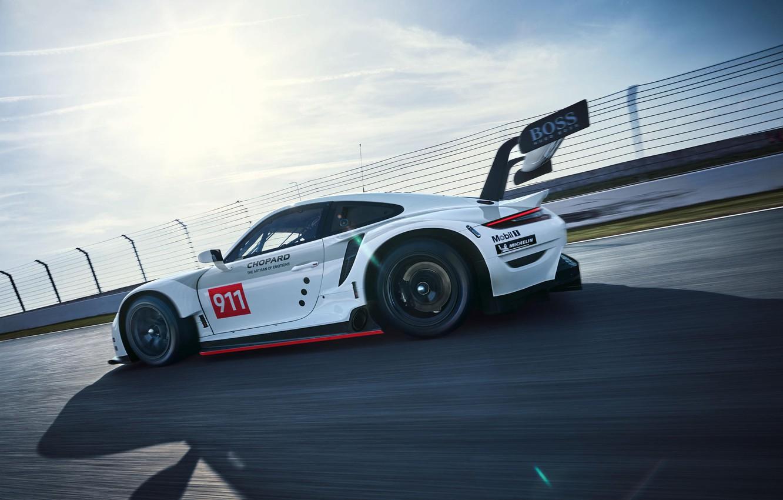 Photo wallpaper Porsche, Wheel, Speed, Porsche 911, Wing, 2020, Porsche 911 RSR