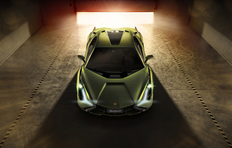 Photo wallpaper Lamborghini, supercar, Later