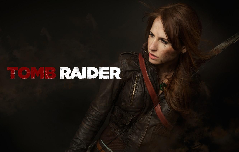 Photo wallpaper Tomb Raider, Lara Coft, Cosplay, A Survivor Is Born