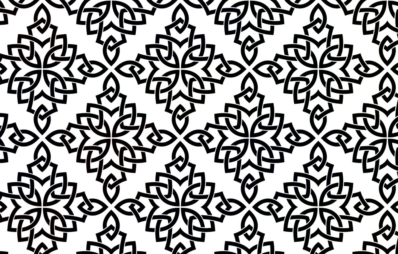 Photo wallpaper Wallpaper, pattern, ornament