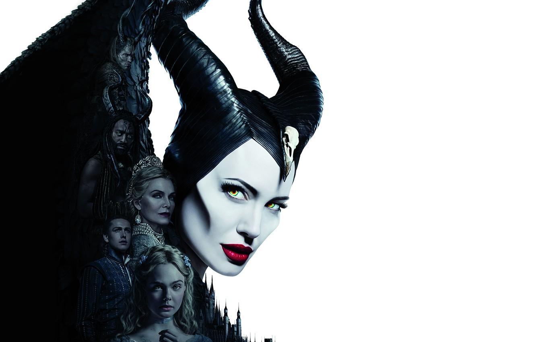 Wallpaper Poster Maleficent Elle Fanning El Fanning 2019