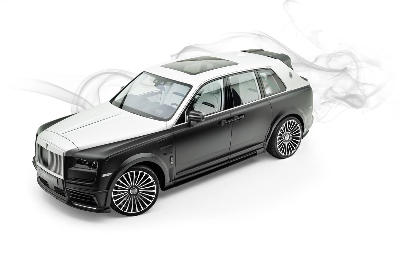 Photo wallpaper Rolls Royce, Mansory, Billionaire, 2019, Cullinan