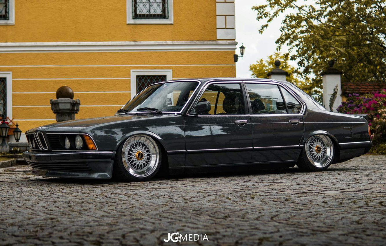 Photo wallpaper BMW, E23, 7-SERIES