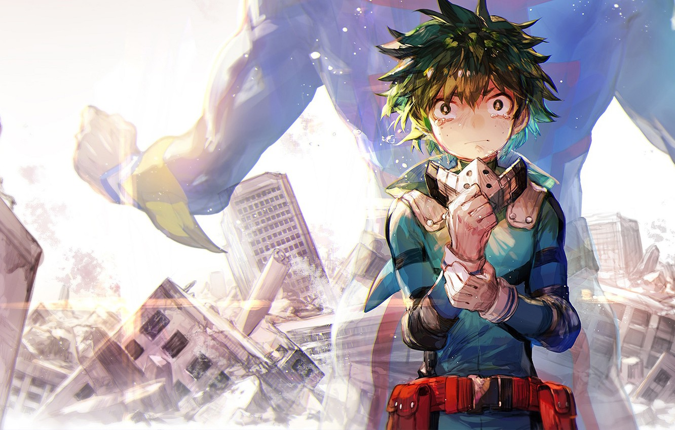 Photo wallpaper guy, Boku No Hero Academy, Midori Isuku, My heroic academia, Deco, Almighty