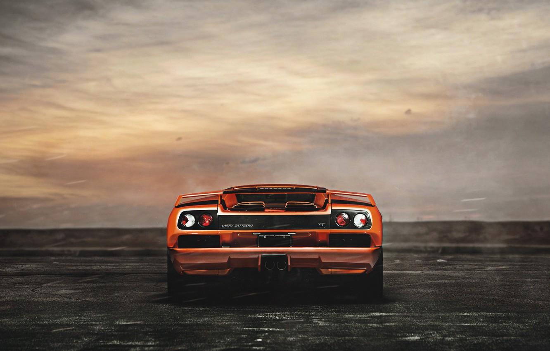 Photo wallpaper Auto, Lamborghini, Machine, Supercar, Diablo, Rendering, Lamborghini Diablo, Jeremy Cliff, Transport & Vehicles, Larry Zattberg, …