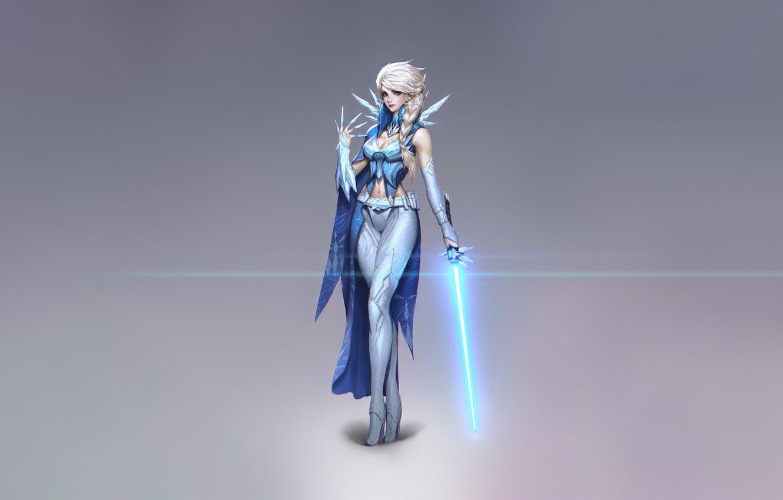 Frozen Fantasy Art Wallpaper