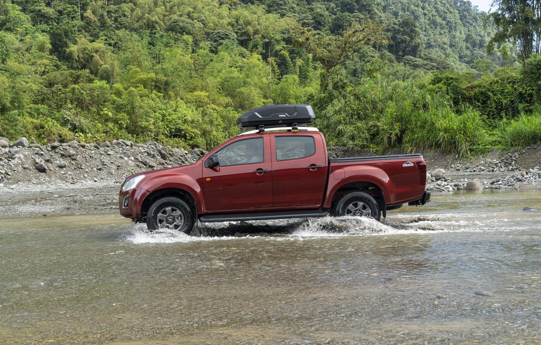 Photo wallpaper Chevrolet, side view, pickup, Isuzu, 2020, D-Max, 2021, Hi-Ride