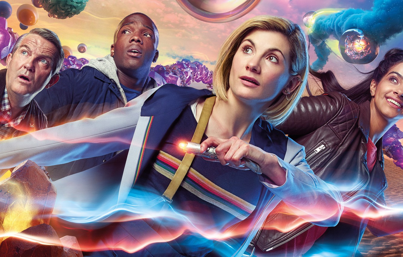 Photo wallpaper fiction, Doctor Who, Doctor Who, Jodie Whittaker, sonic screwdriver, The Thirteenth Doctor, Thirteenth Doctor, Tosin …