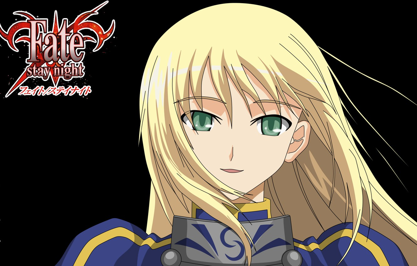 Photo wallpaper girl, portrait, art, blonde, the saber, Fate stay night, Fate / Stay Night