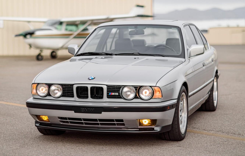 Photo wallpaper BMW, E34, 5-Series