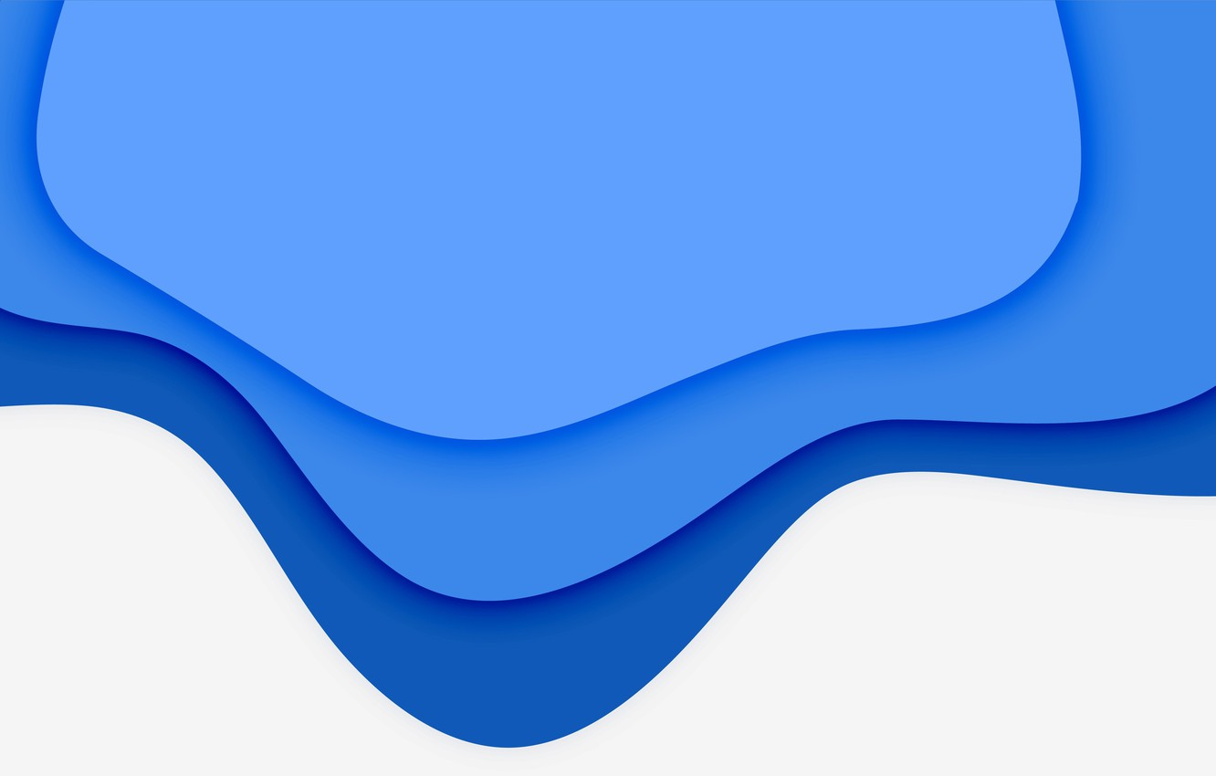 Wallpaper White Abstraction Background Blue Abstract