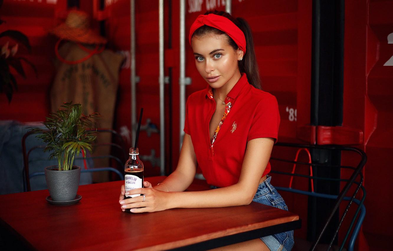 Photo wallpaper Girl, Dmitry Arhar, Alina Sabirova