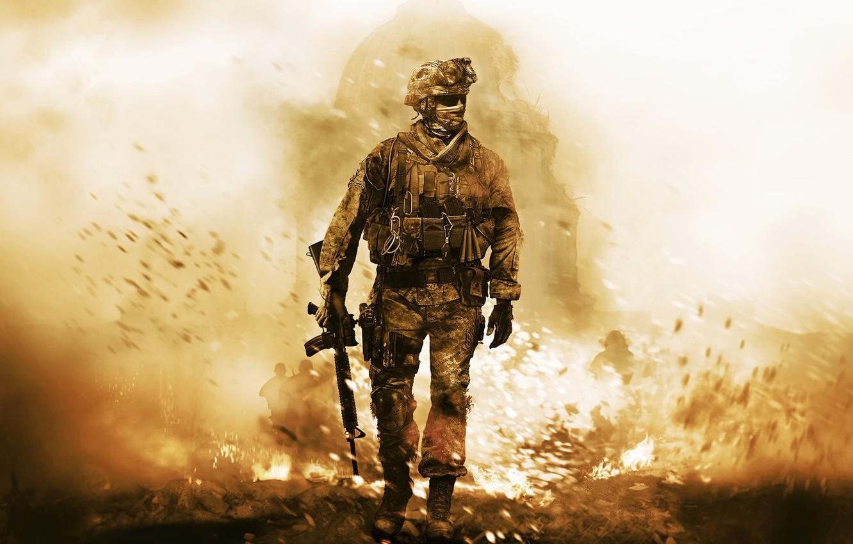 Photo wallpaper Call of Duty, Modern Warfare 2, Activision, Infinity Ward, Remastered, Call of Duty Modern Warfare …