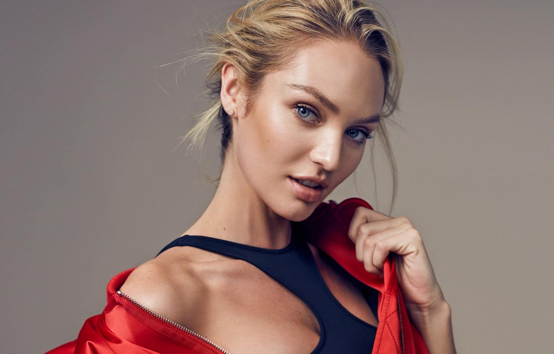 Wallpaper Model Blonde Model Candice Swanepoel Candice