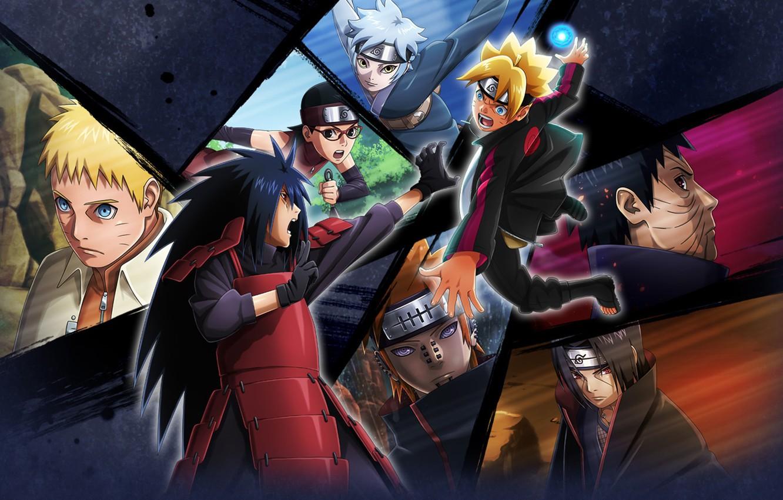 Photo wallpaper game, naruto, anime, pain, ninja, evil, asian, madara, Uchiha, itachi, manga, shinobi, rasengan, oriental, asiatic, …