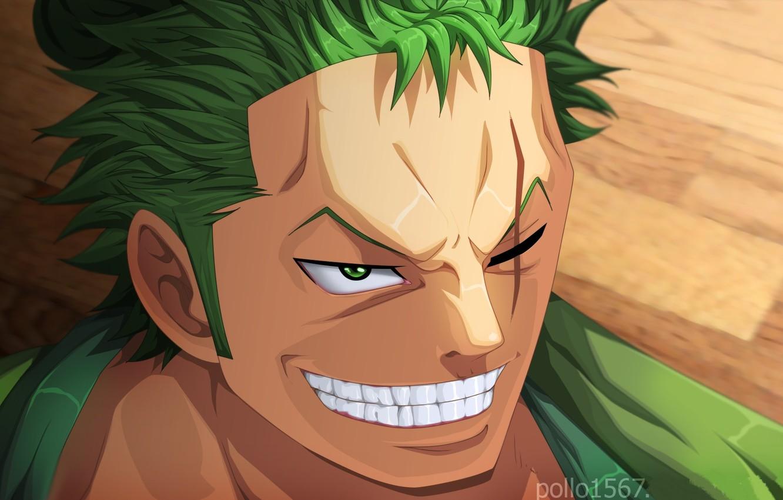 Photo wallpaper smile, guy, One Piece