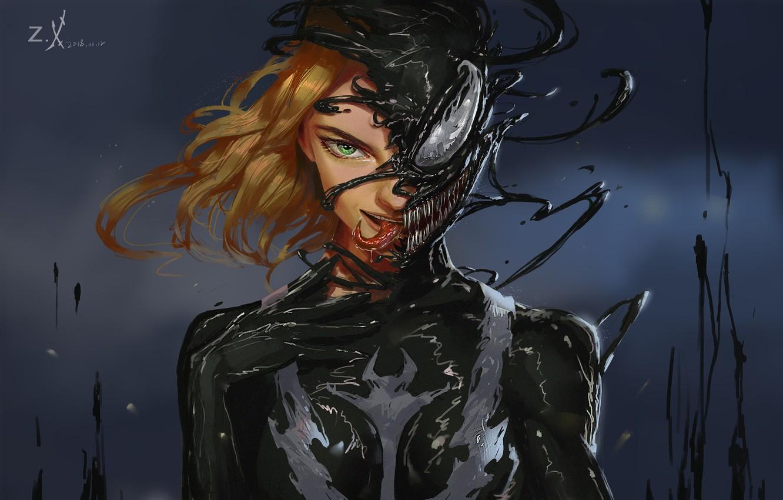 P O Wallpaper Girl Language Teeth Art Comics Marvel Concept Art