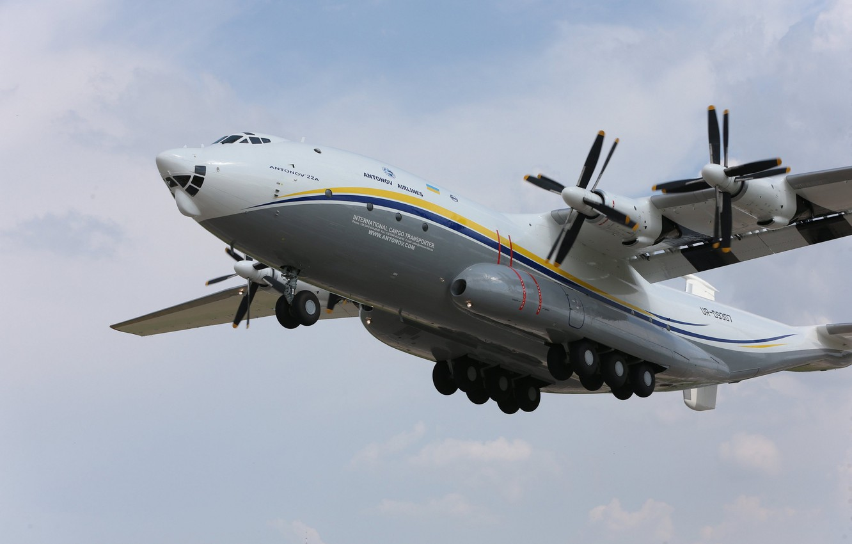 "Photo wallpaper Ukraine, Antonov, transport aircraft, An-22 ""Antey»"