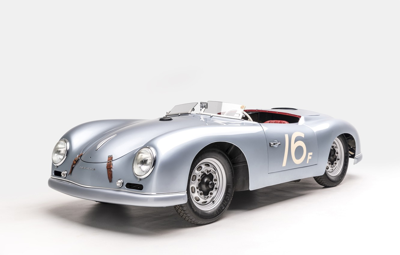 Photo wallpaper Porsche, 1953, Classic, Classic car, Porsche 356, Porsche 356 America Roadster