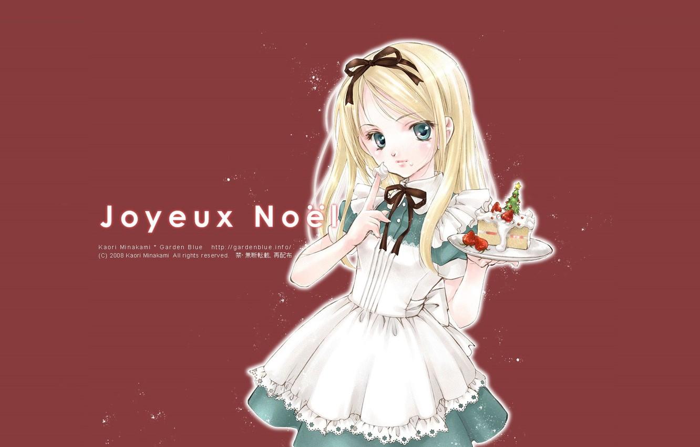 Photo wallpaper blue eyes, Alice in Wonderland, cream, Alice in Wonderland, Alice, apron, ruffles, piece of cake, …