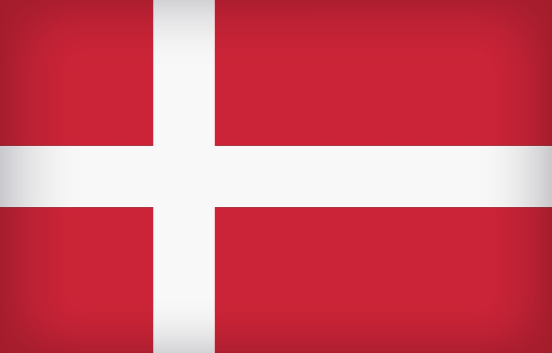 Photo wallpaper Flag, Denmark, Danish, Danish Flag, Flag Of Denmark