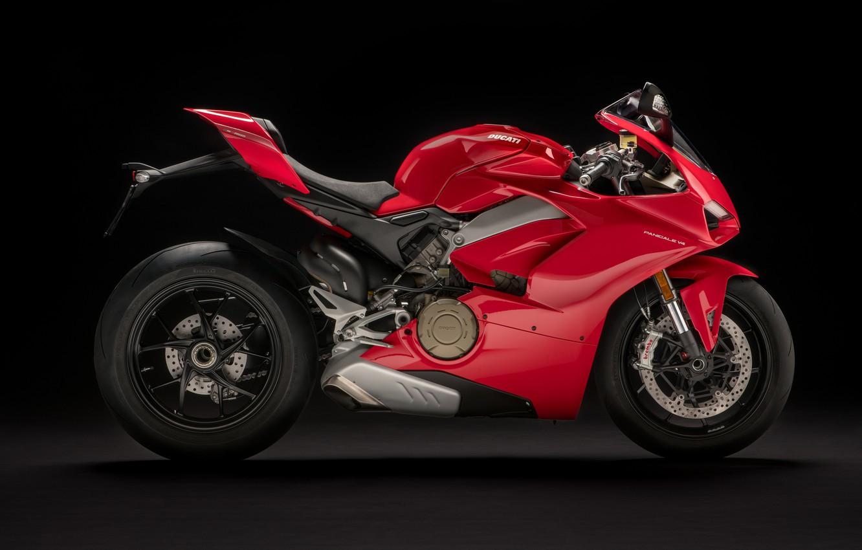 Photo wallpaper Profile, Ducati, 2018, Panigale, Sportbike, V4 S, Ducati Panigale V4 S