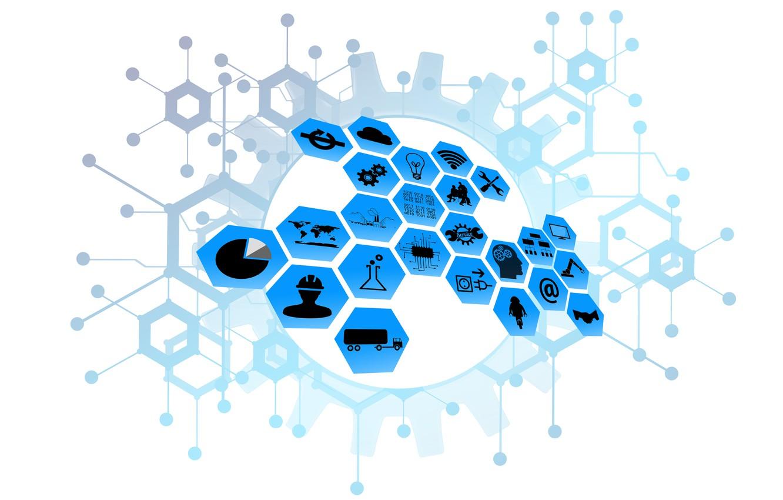Photo wallpaper network, industry, management, infrastructure